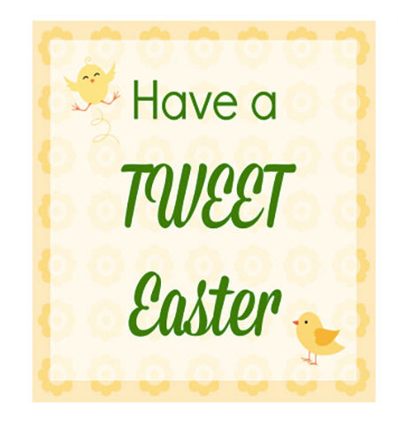 picture about Free Printable Easter Tags named 17 Absolutely free Printable Easter Present Tags The Electronic Obtain Keep