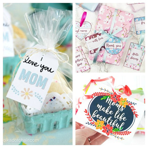 photograph regarding Printable Tags Free called 15 Cost-free Printable Moms Working day Reward Tags- The Electronic