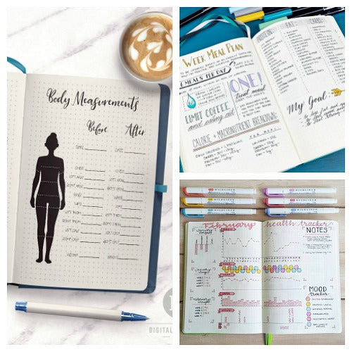photo relating to Bullet Journal Weight Loss Tracker Printable known as 15 Health and fitness and Physical fitness Bullet Magazine Web pages for Bodyweight Reduction