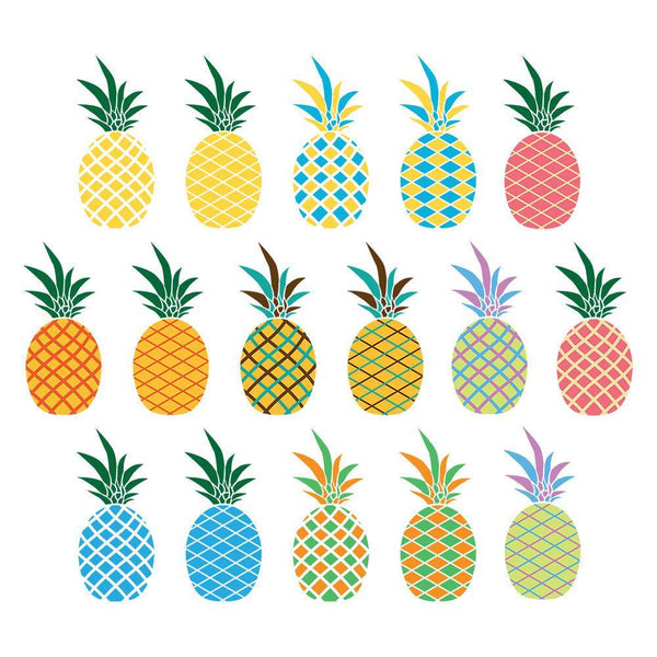 16 Pineapples Clipart - The Digital Download Shop