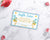 Blue Baby Shower Raffle Ticket Printable *EDIT ONLINE*