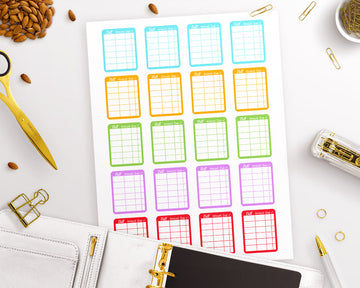 Planner Starter Kit- Financial Stickers