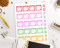 Planner Starter Kit- Health Stickers