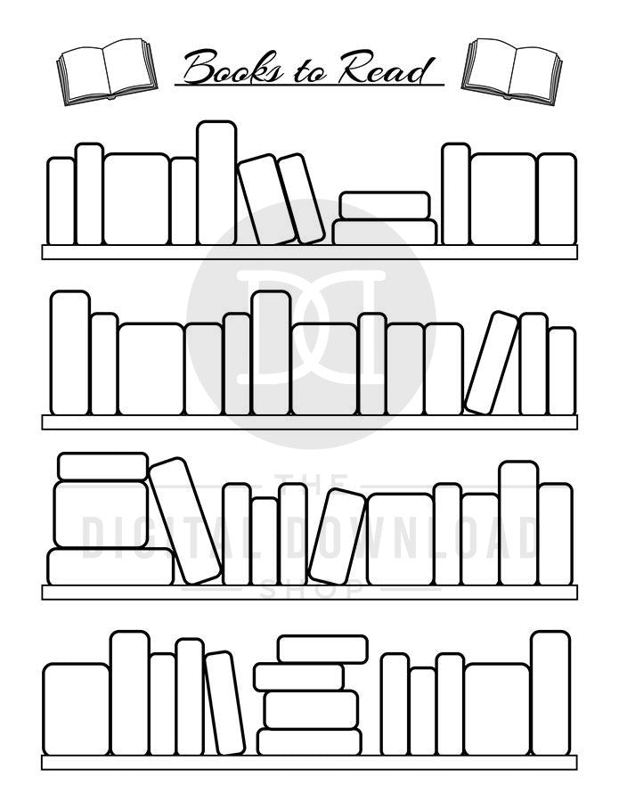 photograph relating to Books to Read Printable named Bullet Magazine Guides toward Examine Planner Printable