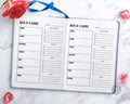 Academic Weekly Planner Printable
