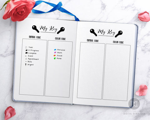 image relating to Bullet Journal Key Printable named Cost-free Printable Bullet Magazine Mystery Webpage- Electronic Obtain