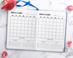 Month on One Page Planner Printable- Get your month planned and organized fast with this handy month at a glance planner printable for bullet journals and planners! | monthly planner, undated monthly calendar, MO1P, #planner #bulletJournal #bujo #monthAtAGlance #DigitalDownloadShop