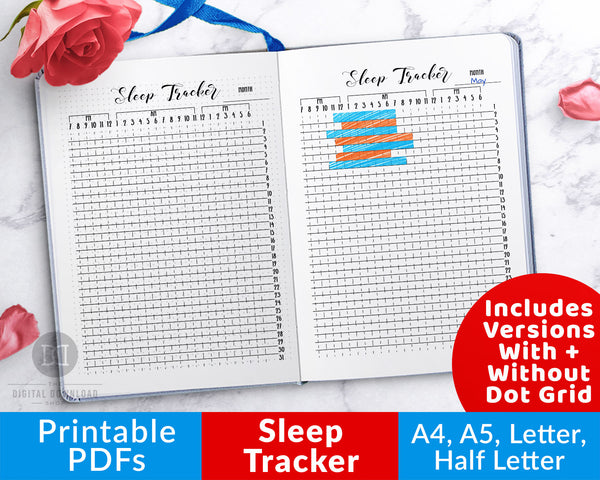 photograph relating to Sleep Log Printable named Rest Tracker Bullet Magazine Printable The Electronic