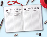Travel Bucket List Printable