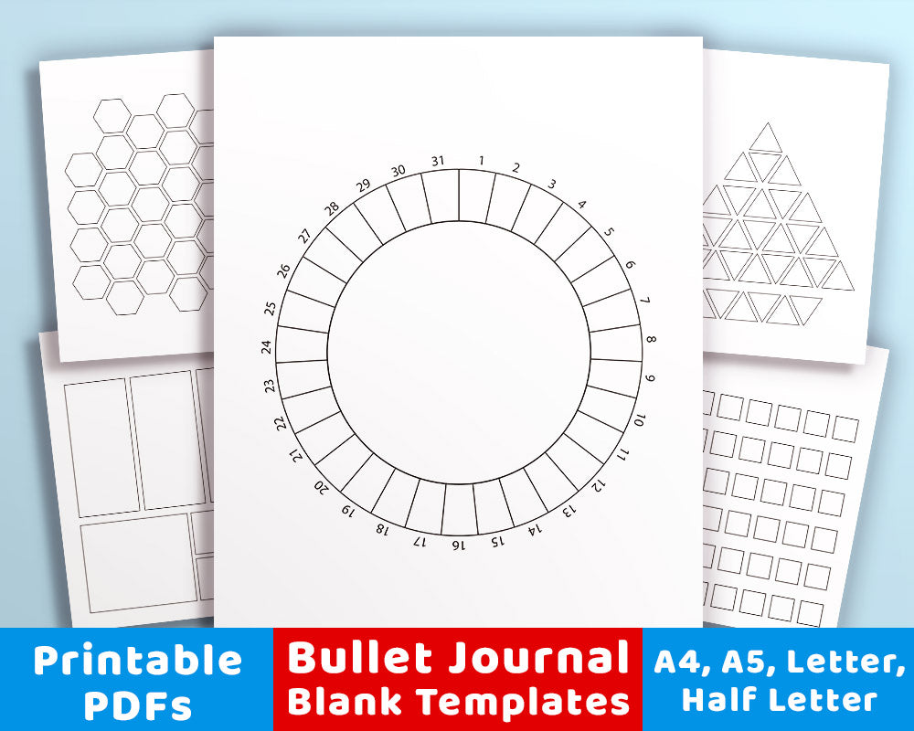photograph about Mood Tracker Bullet Journal Printable named 20 Bullet Magazine Template Printables