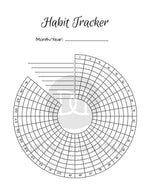 Bullet Journal Habit Trackers Printable- The Digital Download Shop