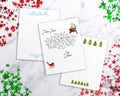 3 Christmas Stationery Paper Printables Set 2