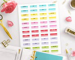 College Reminders Printable Planner Stickers- The Digital Download Shop