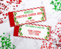 Christmas Coupon Book Editable Printable *EDIT ONLINE*