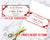 Christmas Gift Certificate Template- Ribbon