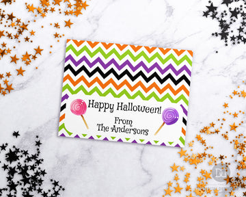 Editable Treat Bag Topper Printable- Lollipops *EDIT ONLINE*