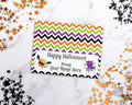 Halloween Treat Bag Topper Editable Printable- Monsters *EDIT ONLINE*