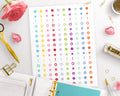 Important Marks Printable Planner Stickers