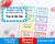 Kids Reward Tickets Editable Printable- The Digital Download Shop