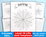 Level 10 Life Printable Bundle- The Digital Download Shop