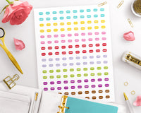Macaron Printable Planner Stickers- The Digital Download Shop