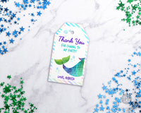Printable Mermaid Editable Favor Tags