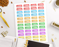 Migraine Tracker Printable Planner Stickers- The Digital Download Shop