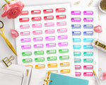 Pain Tracker Printable Planner Stickers