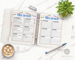 2 party checklist printables, perfect for birthday party planning, anniversary party planning, graduation party planning, and more!