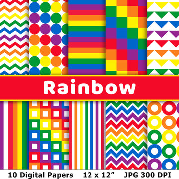 Rainbow Digital Papers