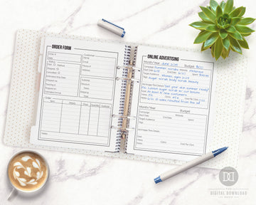 Small Business Planner Printable