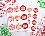 Editable Sugar Scrub Labels- Christmas Printable