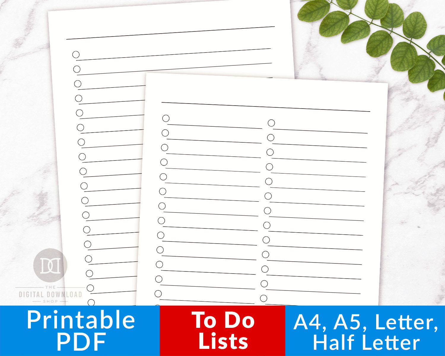 photograph relating to To Do List Printables identified as Towards Do Record Printables- Huge Style