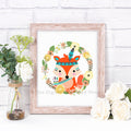 Tribal Fox Nursery Printable