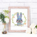 Tribal Rabbit Nursery Printable