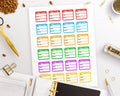 Trigger Tracker Printable Planner Stickers