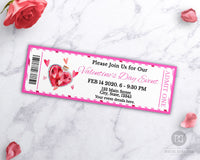 Valentine's Day Event Ticket Printable- Love Potion
