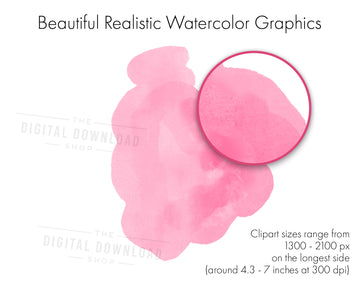 Watercolor Elements Clipart
