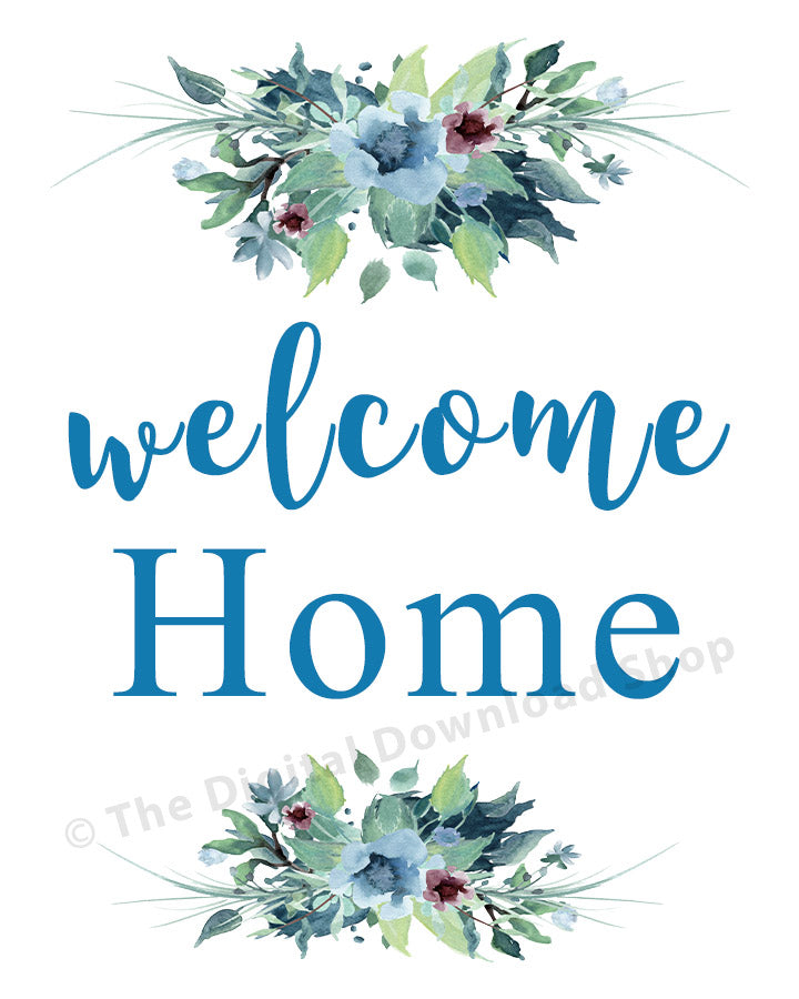 graphic about Welcome Home Sign Printable identified as Welcome Dwelling Printable