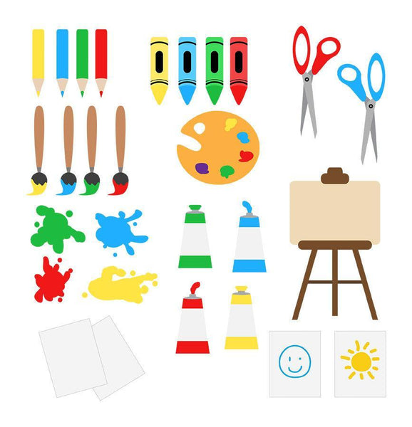 Art Class Clipart - The Digital Download Shop