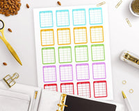 Bill Tracker Printable Planner Stickers - The Digital Download Shop