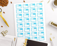 Box Student Printable Planner Stickers - The Digital Download Shop