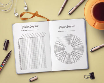 Bullet Journal Habit Trackers Printable