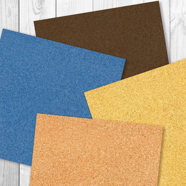 Corkboard Digital Paper - The Digital Download Shop