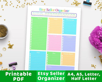 Etsy Seller Planner Printable