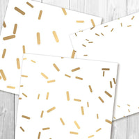 Gold Sprinkles Digital Paper - The Digital Download Shop