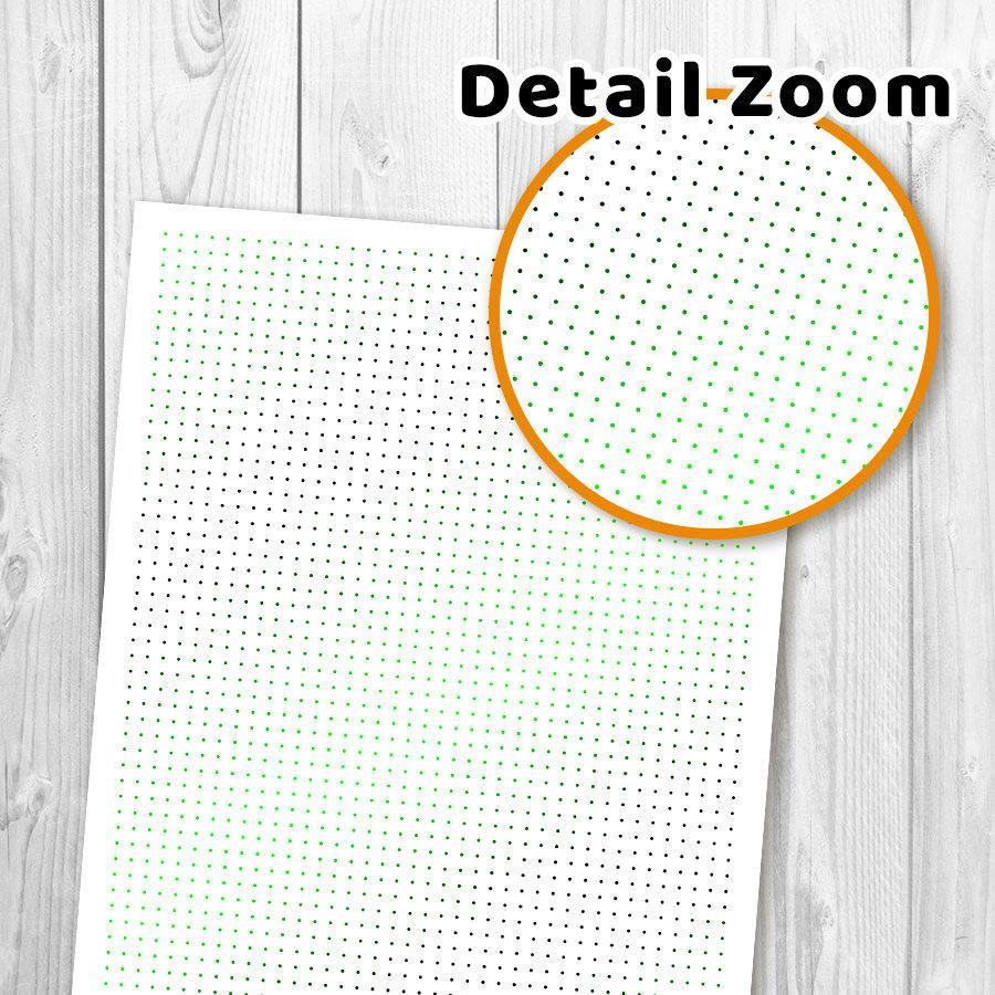 graphic about Dot Grid Printable titled Halloween Dot Grid Bullet Magazine Printable