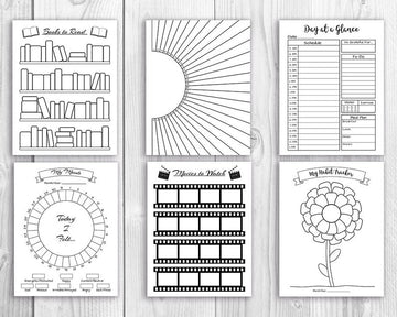 Whole Shop Bullet Journal Printables Bundle