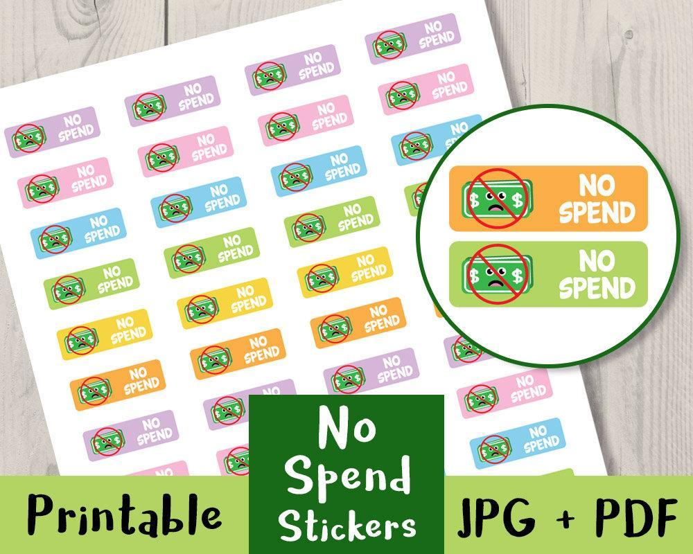 photo about Printable Planner Stickers named No Pay out Reminder Printable Planner Stickers