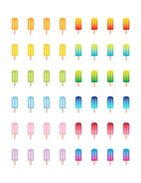 Popsicle Printable Planner Stickers - The Digital Download Shop